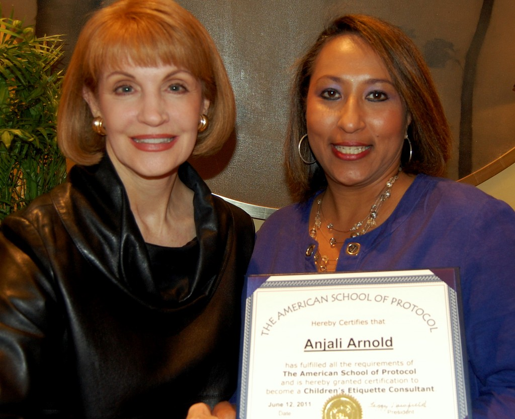 """""""Anjali Arnold with Peggy Newfield"""""""